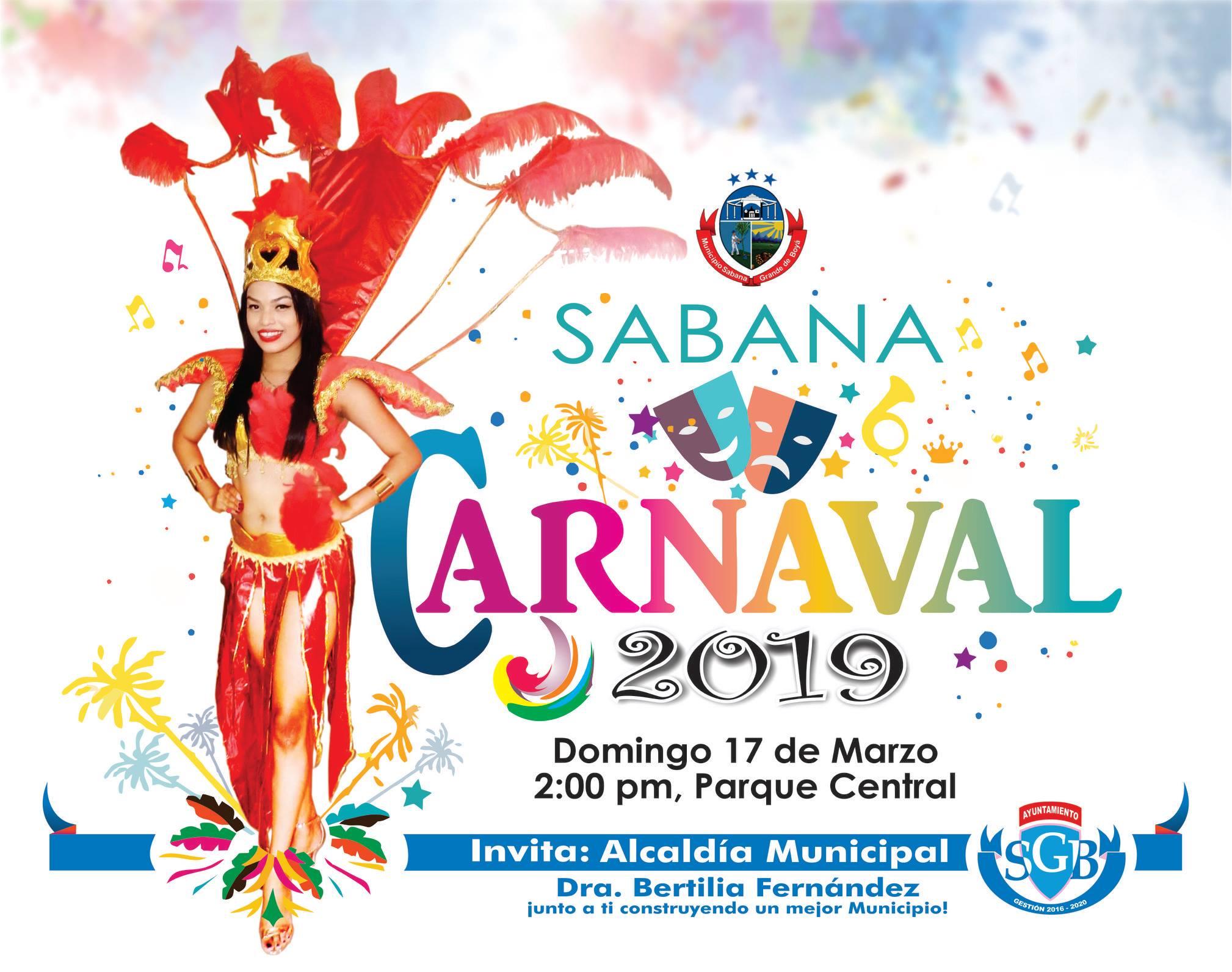 INVITACION AL CARNAVAL 2019
